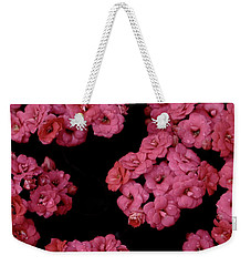 Clusters Of Pink Weekender Tote Bag