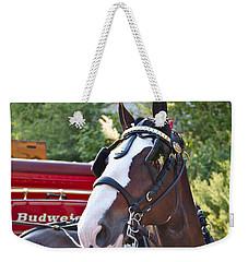 Clydesdale At Esp Weekender Tote Bag