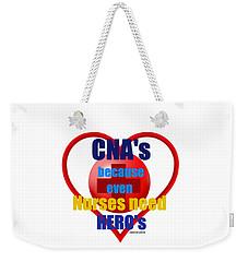 Cna's Weekender Tote Bag