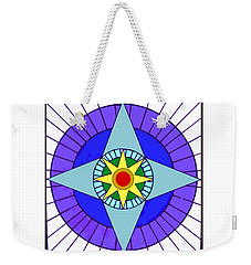 Co-ra Soul Portrait Weekender Tote Bag