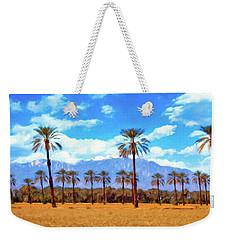 Coachella Date Palms Weekender Tote Bag