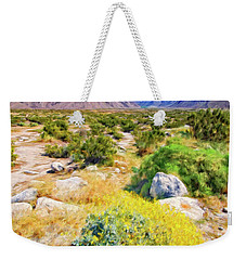 Coachella Spring Weekender Tote Bag by Dominic Piperata