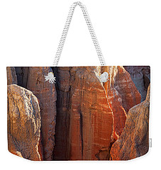Coal Mine Hoodoos Weekender Tote Bag by David Cote