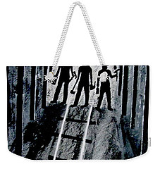 Coal Miners At Work Weekender Tote Bag