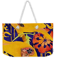 Coalmine Canary Weekender Tote Bag