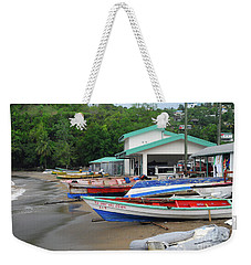 Weekender Tote Bag featuring the photograph Coast Line by Gary Wonning