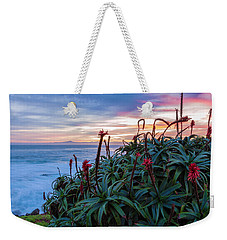Coastal Aloes Weekender Tote Bag