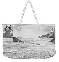 Coastal Beach Weekender Tote Bag by Terry Frederick