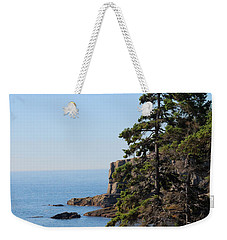 Weekender Tote Bag featuring the photograph Coastal Beauty by Living Color Photography Lorraine Lynch