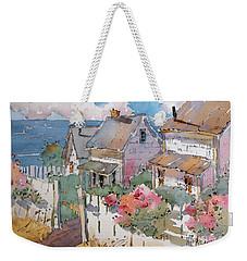 Coastal Cottages Weekender Tote Bag