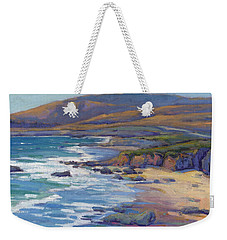 Coastal Cruising 8 / San Simeon Weekender Tote Bag