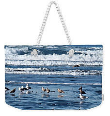 Coastal Fly-in Weekender Tote Bag by Nick Kloepping