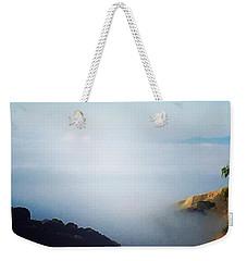 Coastal Fog Weekender Tote Bag by Suzanne Lorenz