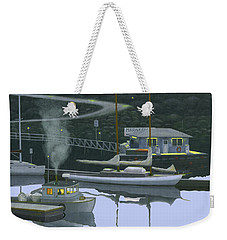 Coastal Morning Weekender Tote Bag