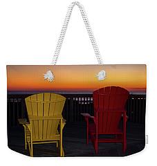 Coastal Mornings Weekender Tote Bag