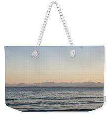 Coastal Mountains At Sunrise Weekender Tote Bag