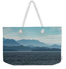Coastal Mountains Weekender Tote Bag