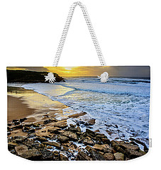 Weekender Tote Bag featuring the photograph Coastal Sunset by Marion McCristall