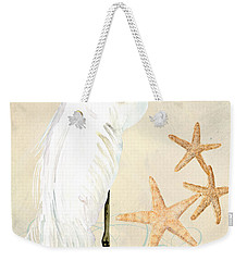 Coastal Waterways - Great White Egret Weekender Tote Bag