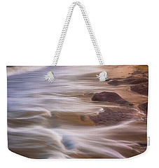 Weekender Tote Bag featuring the photograph Coastal Whispers by Darren White