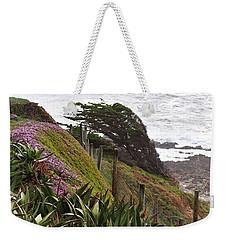 Coastal Windblown Trees Weekender Tote Bag