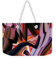 Coaster Ride Weekender Tote Bag