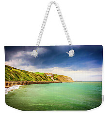 Coastline Of Kent Uk Weekender Tote Bag