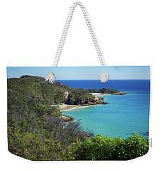 Coastline Views On Moreton Island Weekender Tote Bag