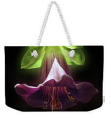 Cobaea Scandens Glowing Weekender Tote Bag