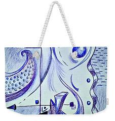 Cobalt Awakening  Weekender Tote Bag