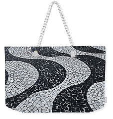 Cobblestone Waves Weekender Tote Bag