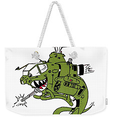 Cobra Weekender Tote Bag by Julio Lopez