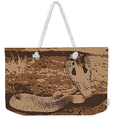 Cobra Love Weekender Tote Bag