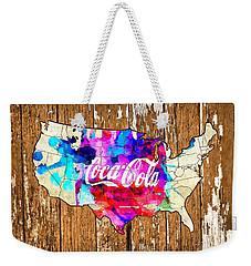 Coca Cola America Weekender Tote Bag