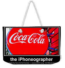 Coca-cola Weekender Tote Bag by Teo SITCHET-KANDA