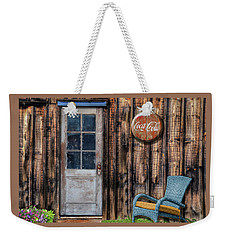 Weekender Tote Bag featuring the photograph Coca Cola by Paul Wear