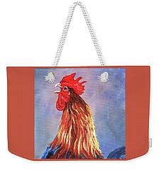 Cock-a-doodle-doo Weekender Tote Bag