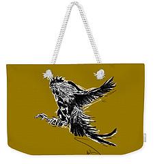 Cock Bw II Transparant Weekender Tote Bag