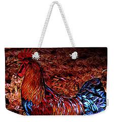 Cock Rooster Weekender Tote Bag