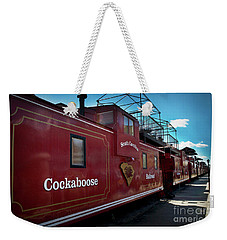 Cockaboose Row Weekender Tote Bag