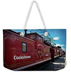Cockaboose Row Weekender Tote Bag