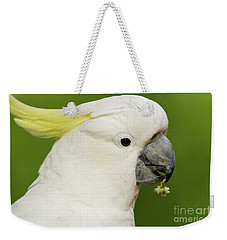Cockatoo Close Up Weekender Tote Bag