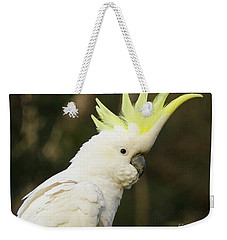 Cockatoo Crest Weekender Tote Bag