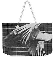 Cockatoo In Flight Weekender Tote Bag