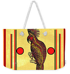 Cockatoo Safety Matches Weekender Tote Bag