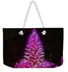 Weekender Tote Bag featuring the photograph Cock's Comb by Judy Hall-Folde