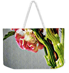 Weekender Tote Bag featuring the photograph Cockscomb Bouquet 5 by Sarah Loft