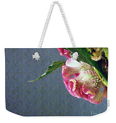 Weekender Tote Bag featuring the photograph Cockscomb Bouquet 6 by Sarah Loft