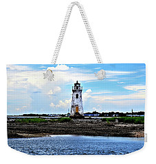 Cockspur Lighthouse Weekender Tote Bag by Tara Potts
