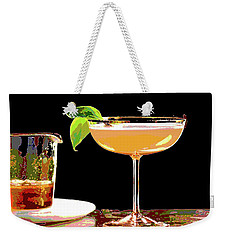 Cocktail And Dreams Weekender Tote Bag by Charles Shoup